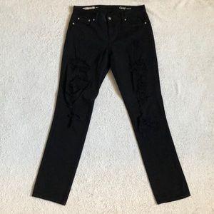 GAP 1969 Distressed 100% Cotton Girlfriend Jean